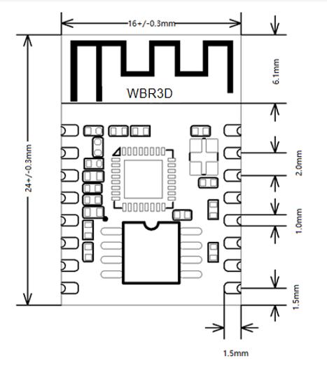 WBR3D 模组规格书
