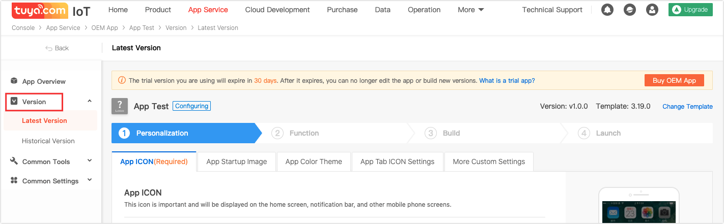 Obtain App SDK