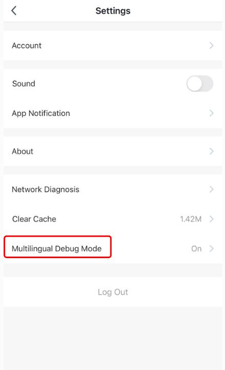 App Multilingual Introduction