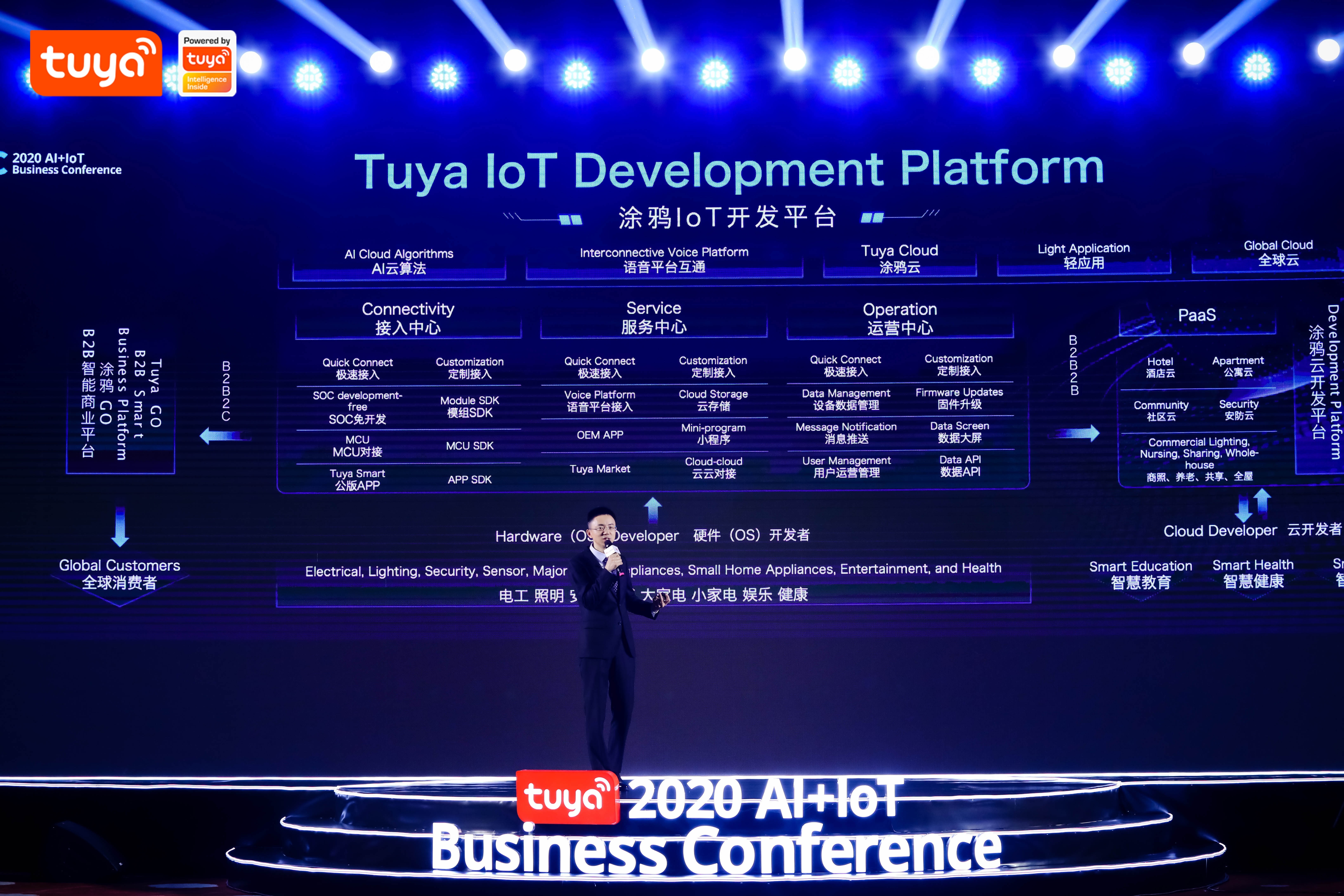 Leo Chen, Co-founder and President of Tuya Smart