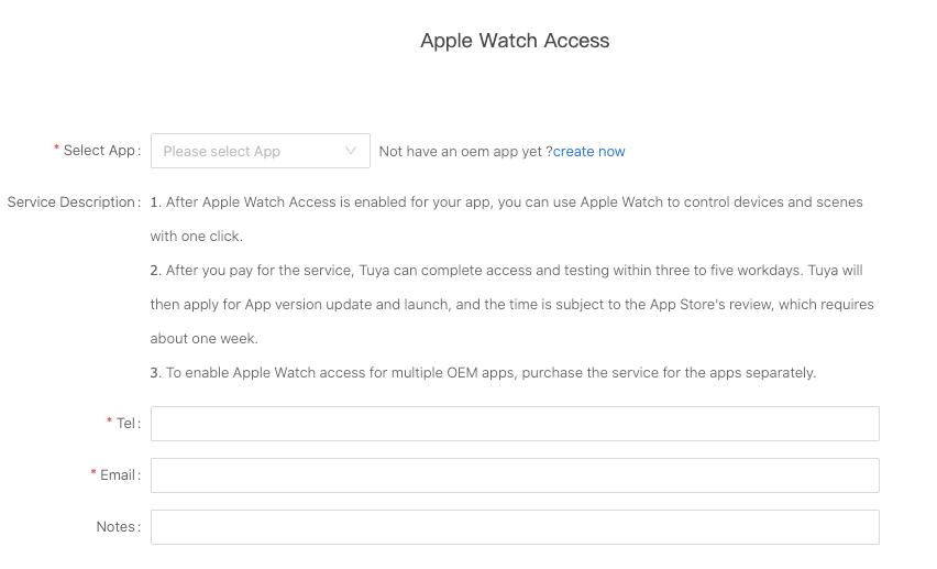 Apple Watch Access