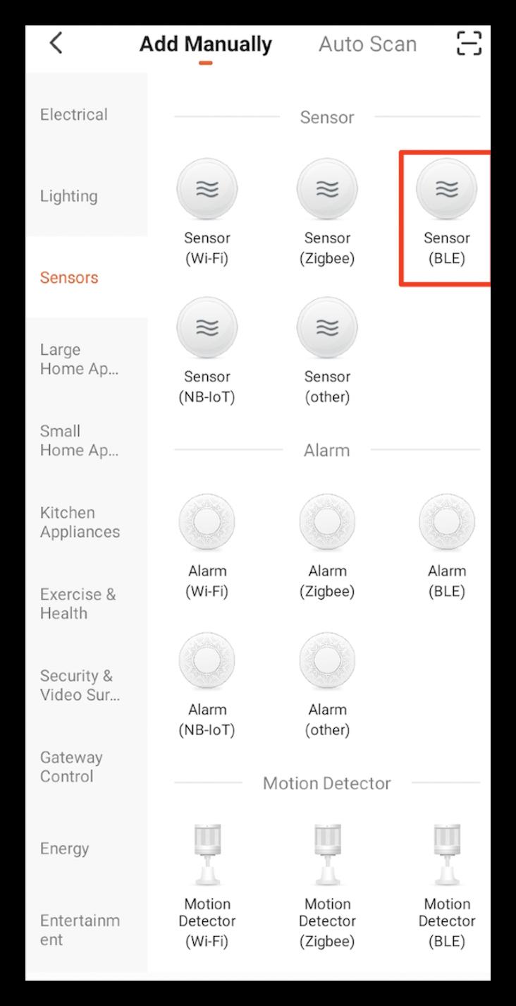 Add a temperature and humidity sensor